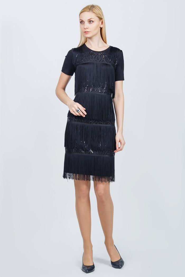 87 платье черное