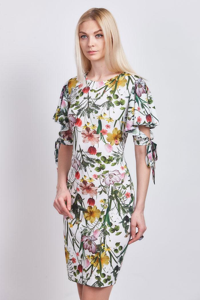 платье_608 с цветочным принтом